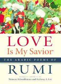 Love is my savior : the Arabic poems of Rumi