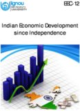 EEC-12 Indian Economic Development since Independence