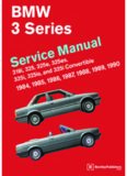 Bentley BMW E30 service manual