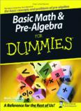 Basic Math & Pre-Algebra