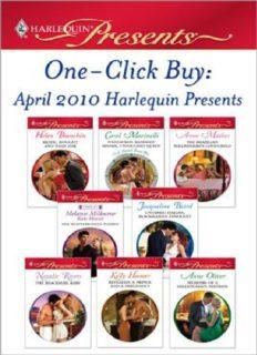 One-Click Buy: April 2010 Harlequin Presents