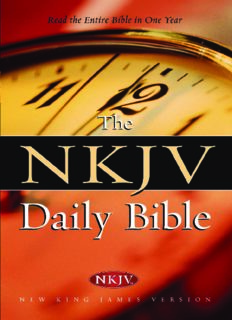 The NKJV Daily Bible: Read the Entire Bible in One Year