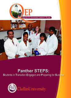 Quality Enhancement Plan - Claflin University