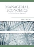 Managerial Economics: A Problem-Solving Approach (Mba Series)
