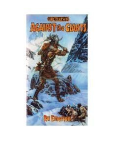 Against the Giants - Ru Emerson