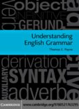 Understanding English grammar : a linguistic introduction