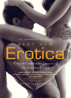 The Mammoth Book of Best New Erotica Volume 12