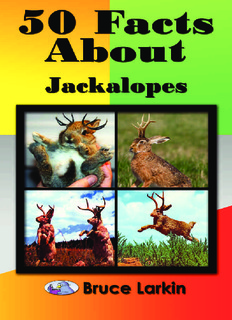 50 Facts About Jackalopes Book