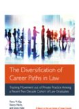 Professor Fiona Kay, The Diversification of Career Paths in Law