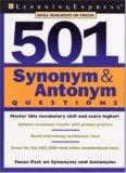 501 Synonym & Antonym Questions - Govtedu