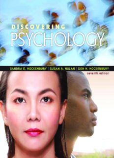 Discovering Psychology (7th Edition)
