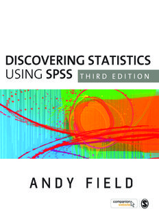 Andy Field Discovering Statistics Using SPSS, Third - Hoangftu