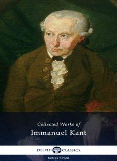 Delphi Complete works of Immanuel Kant