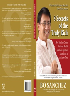 The 8 Secrets of the Truly Rich by Bo Sanchez.