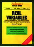 Schaum's outline of theory and problems of real variables; Lebesgue measure and integration with applications to Fourier series