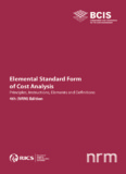 Elemental Standard Form of Cost Analysis - RICS: Royal Institution