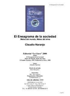 Claudio Naranjo - El Eneagrama De La Sociedad.pdf