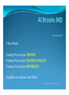 Trading Price Action TRENDS Trading Price Action TRADING RANGES Trading Price Action ...