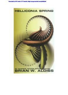 Aldiss, Brian W - Helliconia 1 - Helliconia Spring