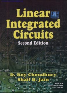 Linear Integrated Circuit 2nd Edition – D. Roy Choudhary