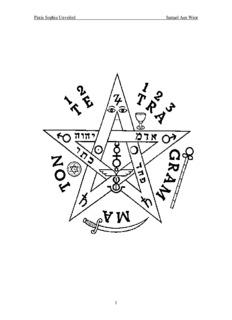 Pistis Sophia Unveiled - V.M. SAMAEL AUN WEOR