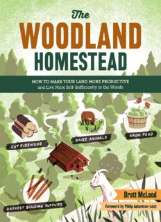 The woodland homestead : how to make your land more productive and live more self-sufficiently in the woods