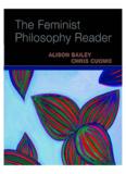 The Feminist Philosophy Reader - Alison Bailey