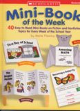 Mini Book Of The Week: 40 Easy-to-Read Mini-Books on Fiction and Nonfiction Topics for Every Week