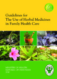 Guidelines for The Use of Herbal Medicines in Family Health Care