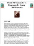 Swami Vivekananda - A Biography by Swami Nikhilananda