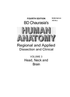 BD Chaurasia's Human Anatomy - Head Neck & Brain (Volume 3)