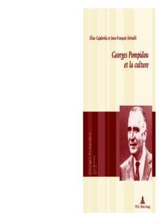 Georges Pompidou et la culture