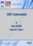 COBIT 5 Implementation - isaca