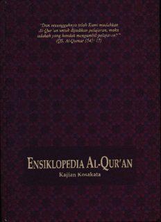 ENSIKLOPEDI AL-QURAN Q-Z