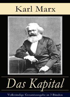 Das Kapital - Vollständige Gesamtausgabe in 3 Bänden
