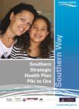 Southern Strategic Health Plan Piki te Ora