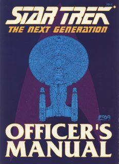 Star Trek - The Next Generation Officers Manual
