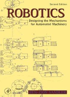 Robotics - Designing the Mechanisms