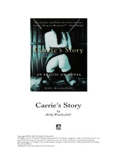 Carrie's Story- An Erotic S-M Novel