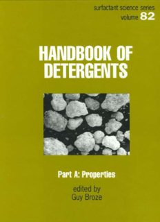 Handbook of Detergents, Part A - Properties (Surfactant Science Series)