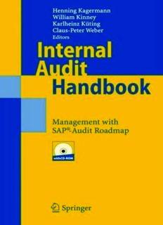 Internal Audit Handbook: Management with the SAP®-Audit Roadmap