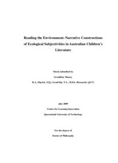 Geraldine Massey Thesis - QUT ePrints - Queensland University of