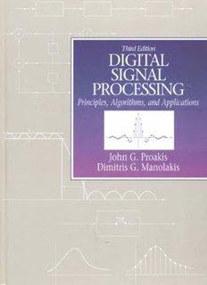 Digital Signal Processing: Principles, Algorithms & Applications (3rd