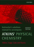 Instructor's Solutions Manual to Accompany Atkins' Physical Chemistry