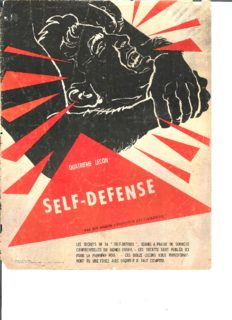 Self defense. La science de la lutte