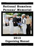 National Homeless National Homeless Persons' Memorial Persons' Memorial Day