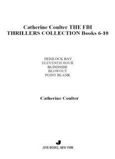 The FBI Thrillers Collection Books 6-10