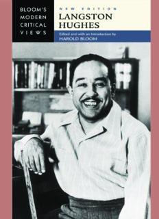 Langston Hughes (Bloom's Modern Critical Views), New Edition