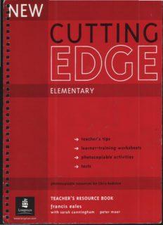 New Cutting Edge: Elementary Teacher's Book