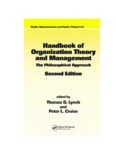 Handbook of Organization Theory and Management